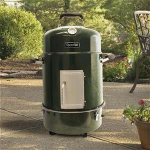 Dyna Glo Compact Charcoal Bullet Smoker Grill Green Lowe S Canada