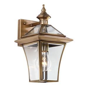 Safavieh Virginia Collection Brass Single Light Wall Sconce
