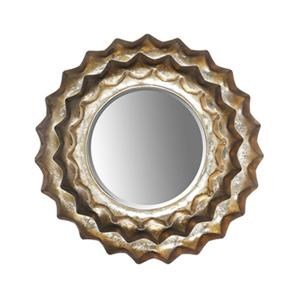 ArtMaison Canada 13.5-in Canada Sunburst Metal Accent Wall Mirror