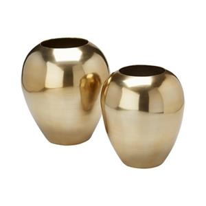 Home Gear Aluminum Serrano Vase (Set of 2)