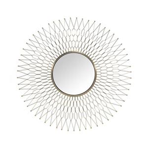 Home Gear 41.6-in Gold Athena Sunburst Wall Mirror