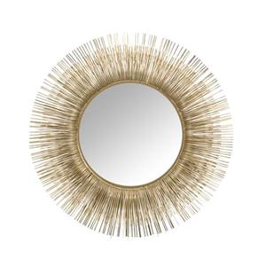 Home Gear 35.2-in Gold Acadia Radiance Wall Mirror