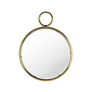 Home Gear 29.4-in Gold Caprice Pendant Wall Mirror