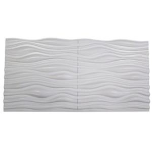 Retro Art Ledge Stone White Dunes 3D Wall Panels