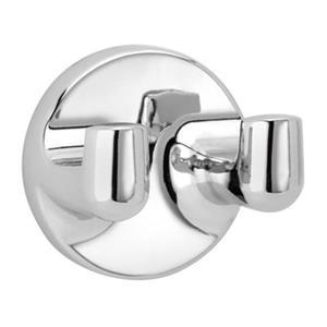 Taymor Infinity Polished Chrome Double Robe Hook