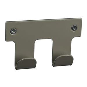 Taymor Chroma Grey Double Robe Hook