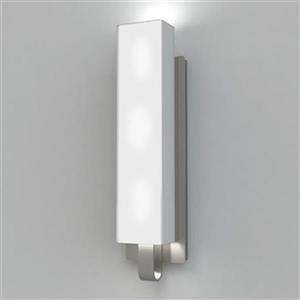 Kendal Lighting Larissa 4.75-in W Satin Nickel Arm Wall Sconce