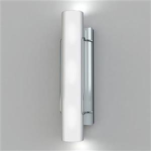 Kendal Lighting Nextra 4.75-in W Chrome Hardwired Ambient Wall Sconce
