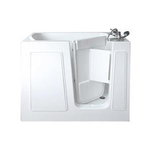 Aquam Spas 4526 Walk-in Whirlpool Bathtub