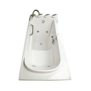 Aquam Spas 5326 LT Low Threshold Walk-in Whirlpool Bathtub