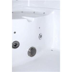 Aquam Spas 5535 Bariatric Walk-in Combination Bathtub