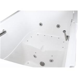 Aquam Spas 5533 XL Walk-in Combination Bathtub