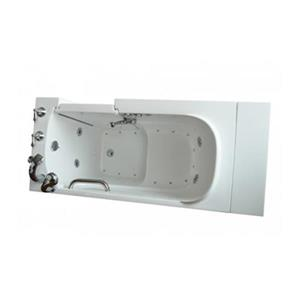 Aquam Spas 5530HB Walk-in Combination Bathtub