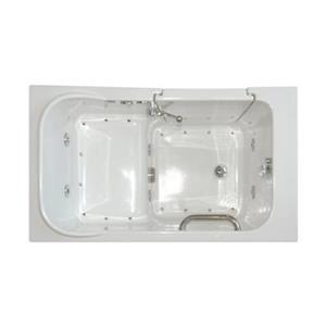 Aquam Spas 4828 Walk-in Combination Bathtub