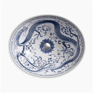 KOHLER Imperial Blue 19.25-in White Caxton Undermount Bathroom Sink
