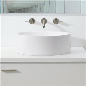 kohler vox round white vessel sink | lowe's canada