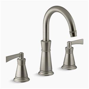 KOHLER Archer Deck-Mount Bath Faucet Trim (Brushed Nickel)