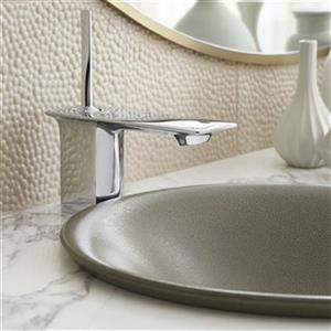 KOHLER Shagreen 17.68-in Ebony Pearl Porcelain Round Carillon Wadding Pool