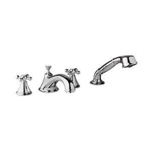Grohe Seabury 8-in Sterling Faucet Roman Tub Filler