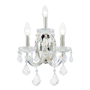 Classic Lighting Maria Theresa Collection Chrome Swarovski Spectra Wall Sconce