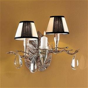 2 Light Morning Dew Wall Sconce