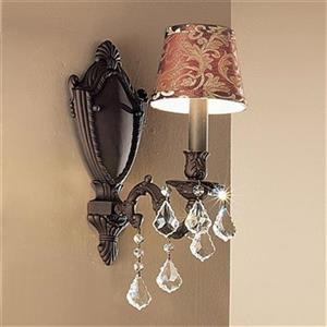 Classic Lighting Chateau Aged Bronze Wall Sconce