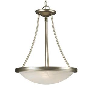 Galaxy Julian Pewter Large Bowl Pendant Light