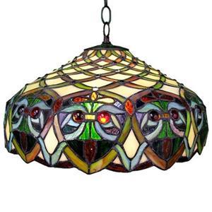 Warehouse of Tiffany Ariel Hanging Style Large Pendant Light
