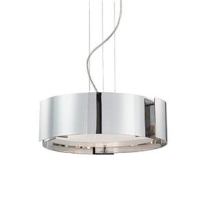 Eurofase 3-Light Dervish Satin Nickel Large Pendant Light