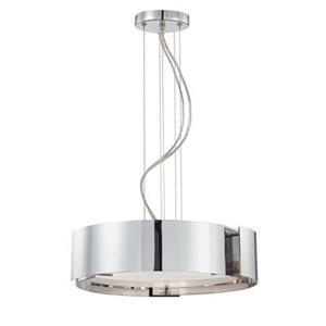 Eurofase 5-Light Dervish Chrome Large Pendant Light