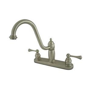 Elements of Design New Orleans Satin Nickel Kitchen Faucet