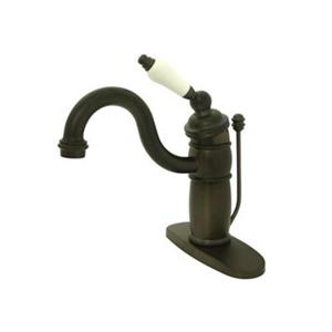 Elements of Design Baltimore 7-in Oiled Rubbed Bathroom Sink Faucet