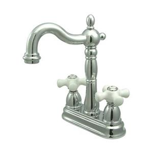 Elements of Design New Orleans Chrome Without Pop-Up Rod Bar Faucet