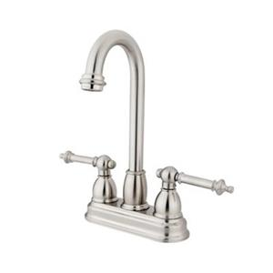 Elements of Design Chicago Satin Nickel Kitchen Faucet