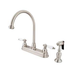 Elements of Design Chicago Satin Nickel Kitchen Faucet With Sprayer