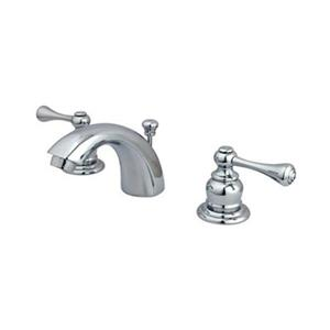 Elements of Design Hot Springs 3.50-in Polished Chrome Mini Widespread Faucet