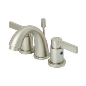 NuvoFusion Goose Neck Spout Mini Widespread Faucet