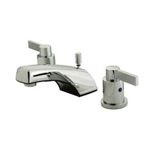Elements of Design NuvoFusion 2.5-in Polished Chrome Widespread Lavatory Faucet