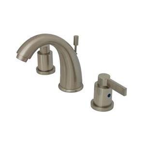 NuvoFusion Goose Neck Spout Widespread Faucet