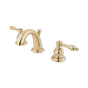 Elements of Design Magellan 2.5-in Polished Brass Widespread Faucet