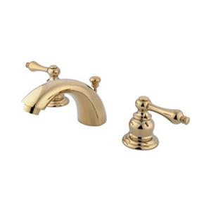 Elements of Design 3.5-in Polished Brass Mini Widespread Faucet