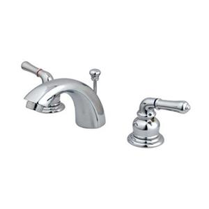 Elements of Design 3.5-in Polished Chrome Mini Widespread Faucet
