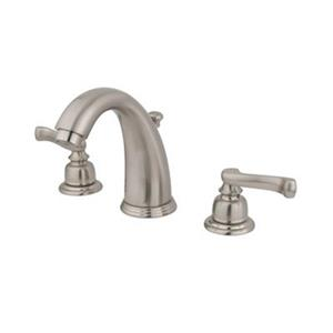 Elements of Design Magellan 4.5-in Satin Nickel Twin Handle Widespread Faucet