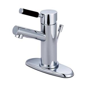 Elements of Design Kaiser 4.38-in Polished Chrome Deck Mount Faucet
