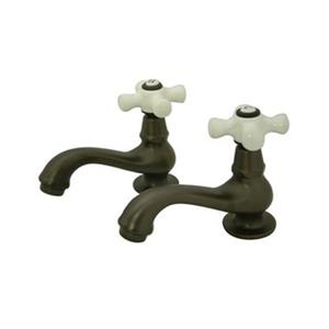 Elements of Design Herritage Collection Oil Rubbed Bronze Comes Pairs Basin Faucet
