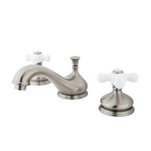 Elements of Design 3.5-in. Satin Nickel Widespread Bathroom Sink Faucet