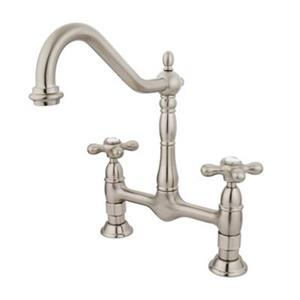 Elements of Design Satin Nickel Kitchen Faucet