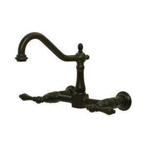 Elements of Design Wall Mounted Oil-Rubbed Bronze Kitchen Faucet