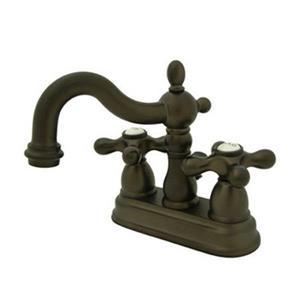 Elements of Design Oil Rubbed Bronze Centerset Faucet