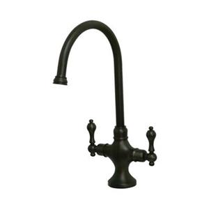 Elements of Design Classic Oil-Rubbed Bronze Two Handle Kitchen Faucet